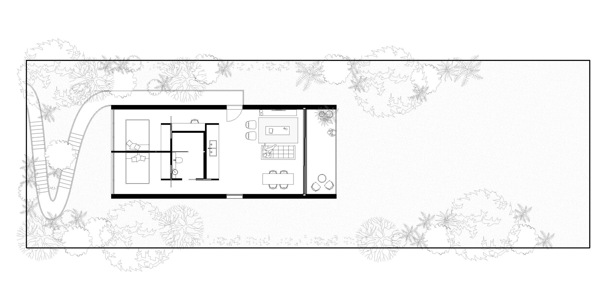 Burrill Lake House | Floor Plan