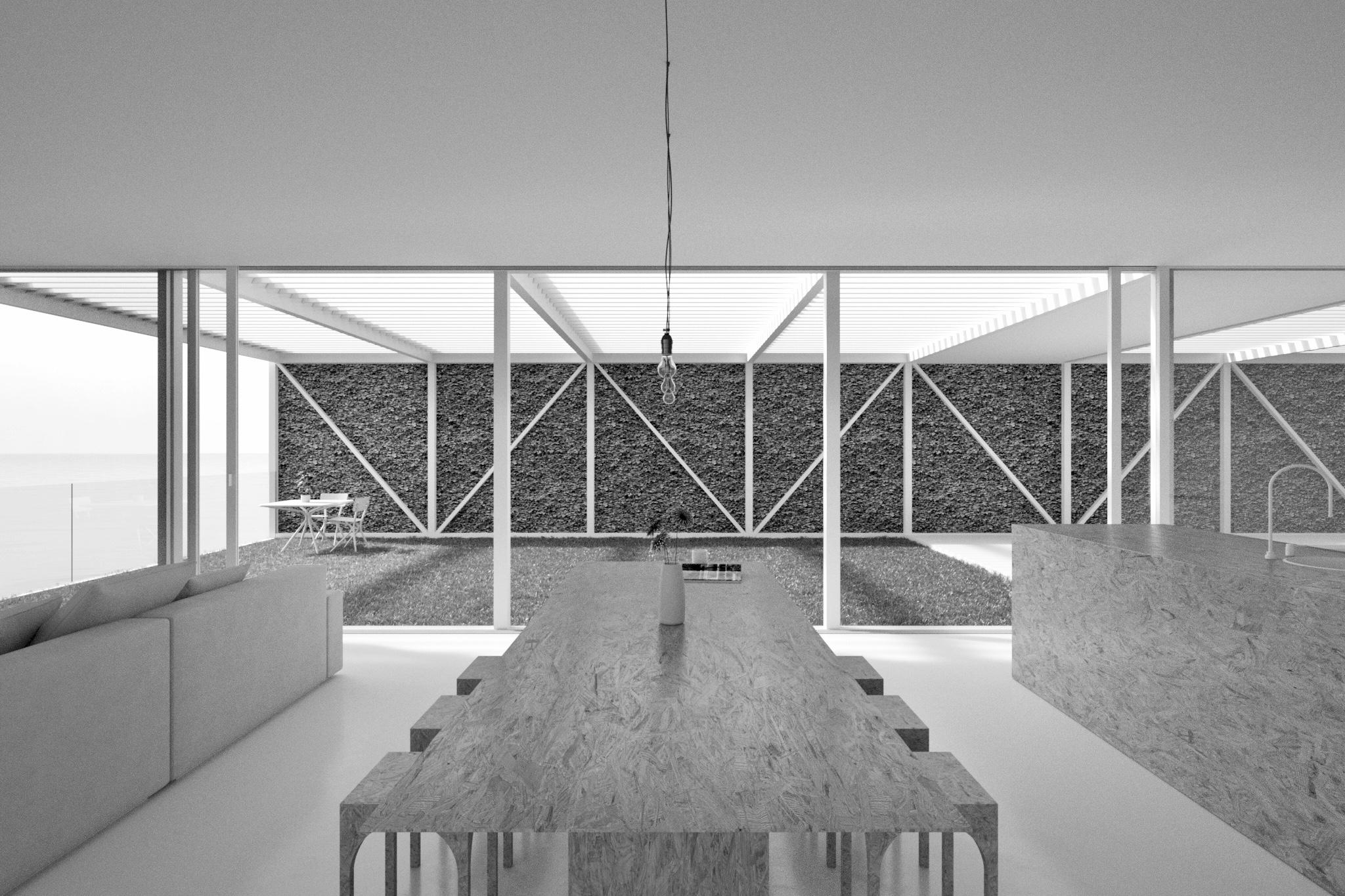 Bondi Beach House Competition | Living Room