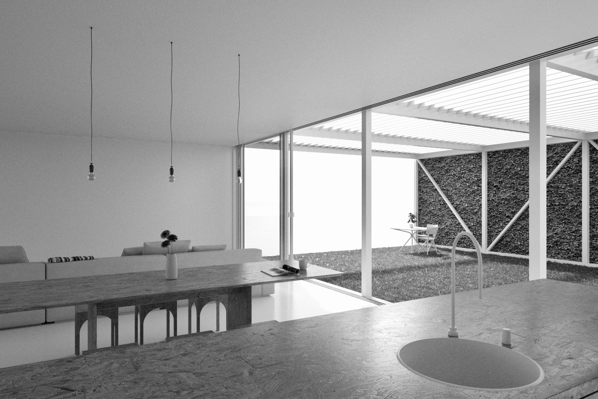Bondi Beach House Competition | Kitchen