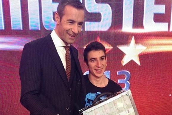 David Fanelli gewinnt 100.000 Euro bei ARD-Live-Show