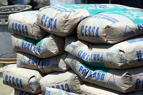Large quantities of quality cement and other building materials will be needed.