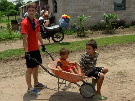Burgess Brown first worked in El Salvador in June 2009.