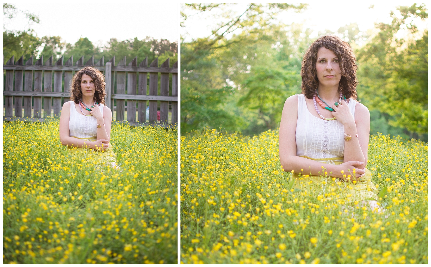 Thought I'd share a little before and after! Obviously I removed the fence. The light was only good in that direction and the fence just killed the shot!! You always have to go where the light is! While I was in Photoshop I thought I'd add a little makeup too :) I don't normally do that because it would take FOREVER, but I thought I'd have a little fun!