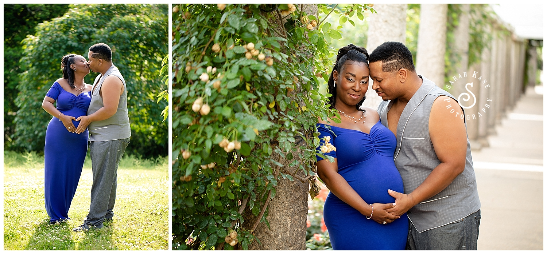 Richmond VA maternity portraits at Maymont www.sarahkanephotography.com