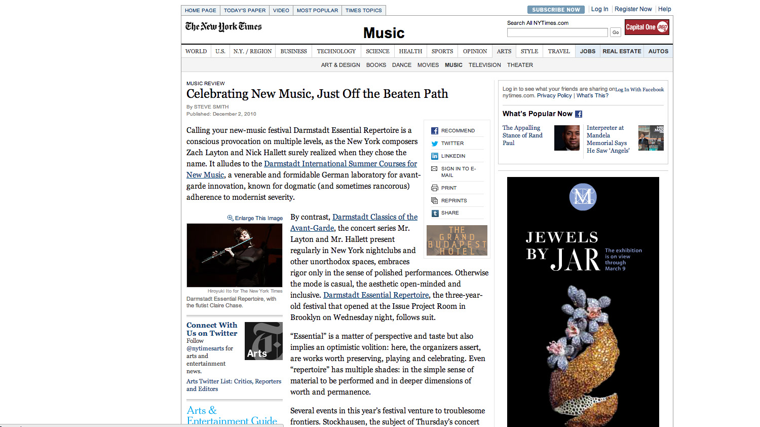 NY Times Review