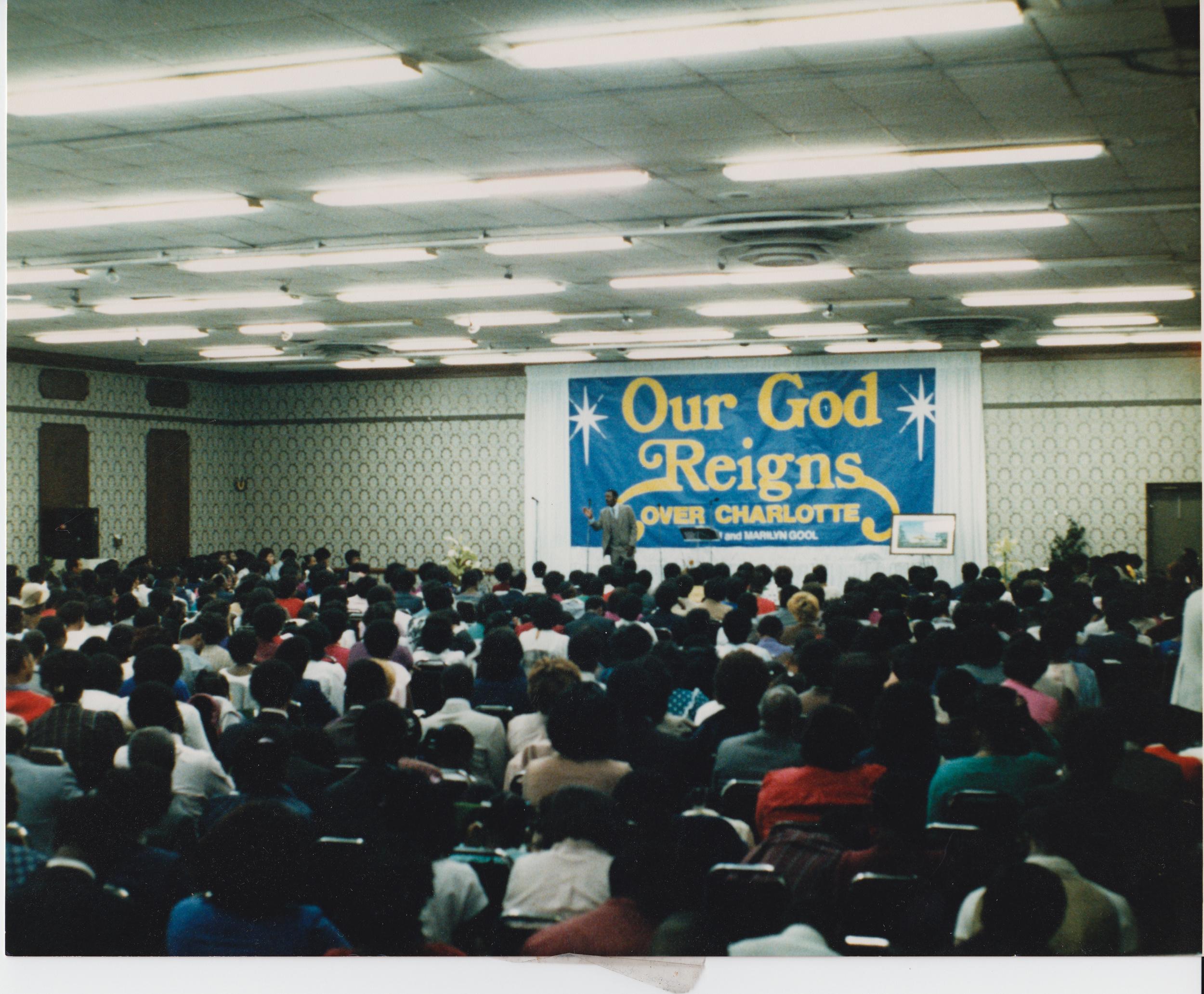 Holiday Inn- Coliseum:  Oct.14, 1980  Holiday Inn North:  Feb. 11, 1981  Holiday Inn Wagoner Hall:  March 1981