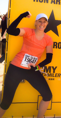 Experiencing the Runner's High After Running the Army 10 Miler!