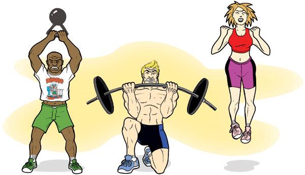 Overzealous Fitness Enthusiasts