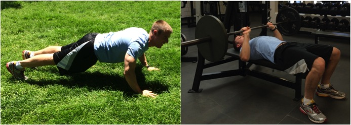 Todd Weber Push Up and Bench Press