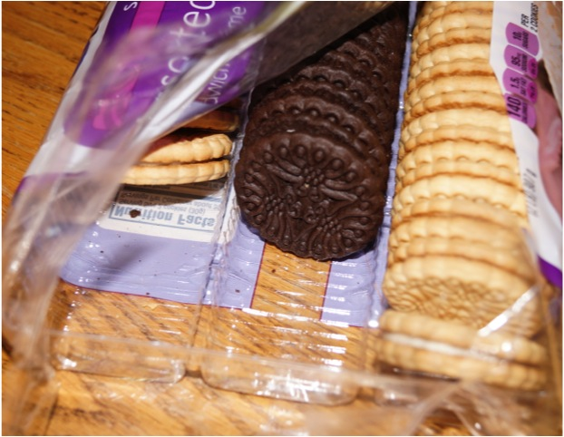 Cookies Portion Control Mindless Eating out of Package