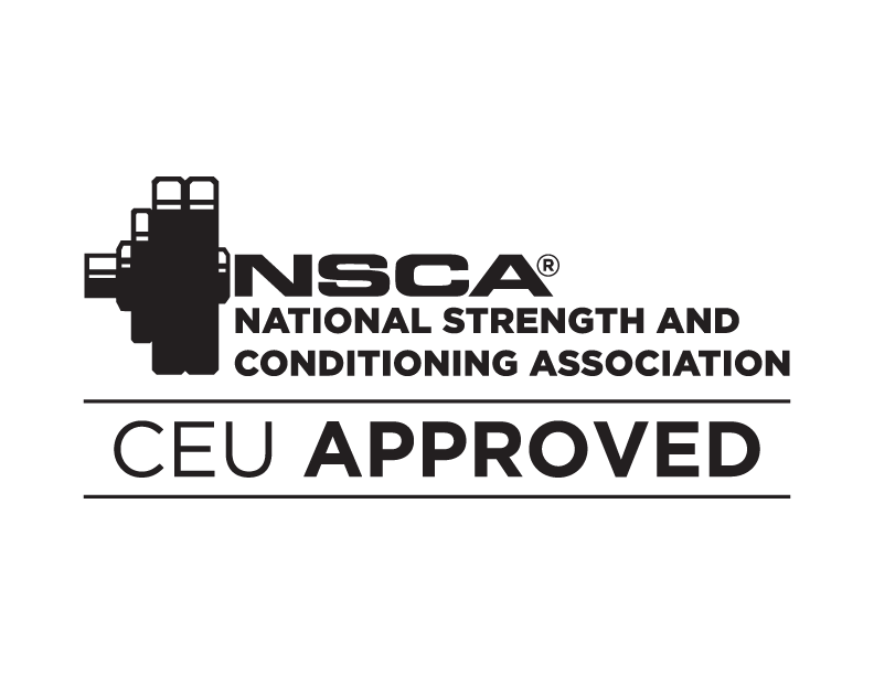 NSCA Logo Approved Continuing Education Provider