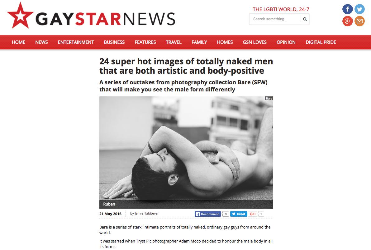 GAY STAR NEWS - BARE