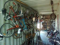 After two years of brisk sales, there are only 20 bikes left to sell. Hopefully Container #8 gets there soon!