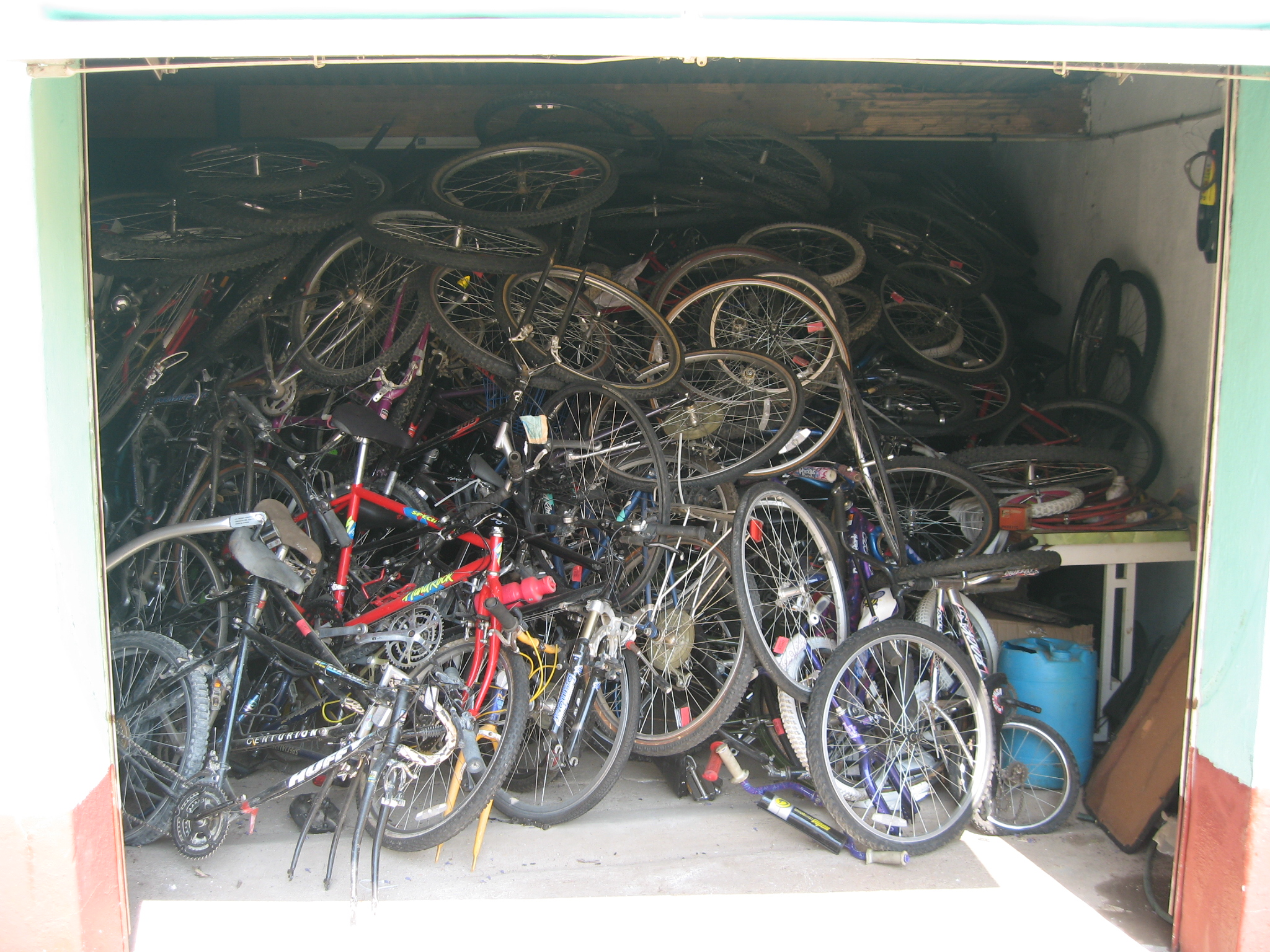 Receiving and storing 500 bikes at a time just won't work