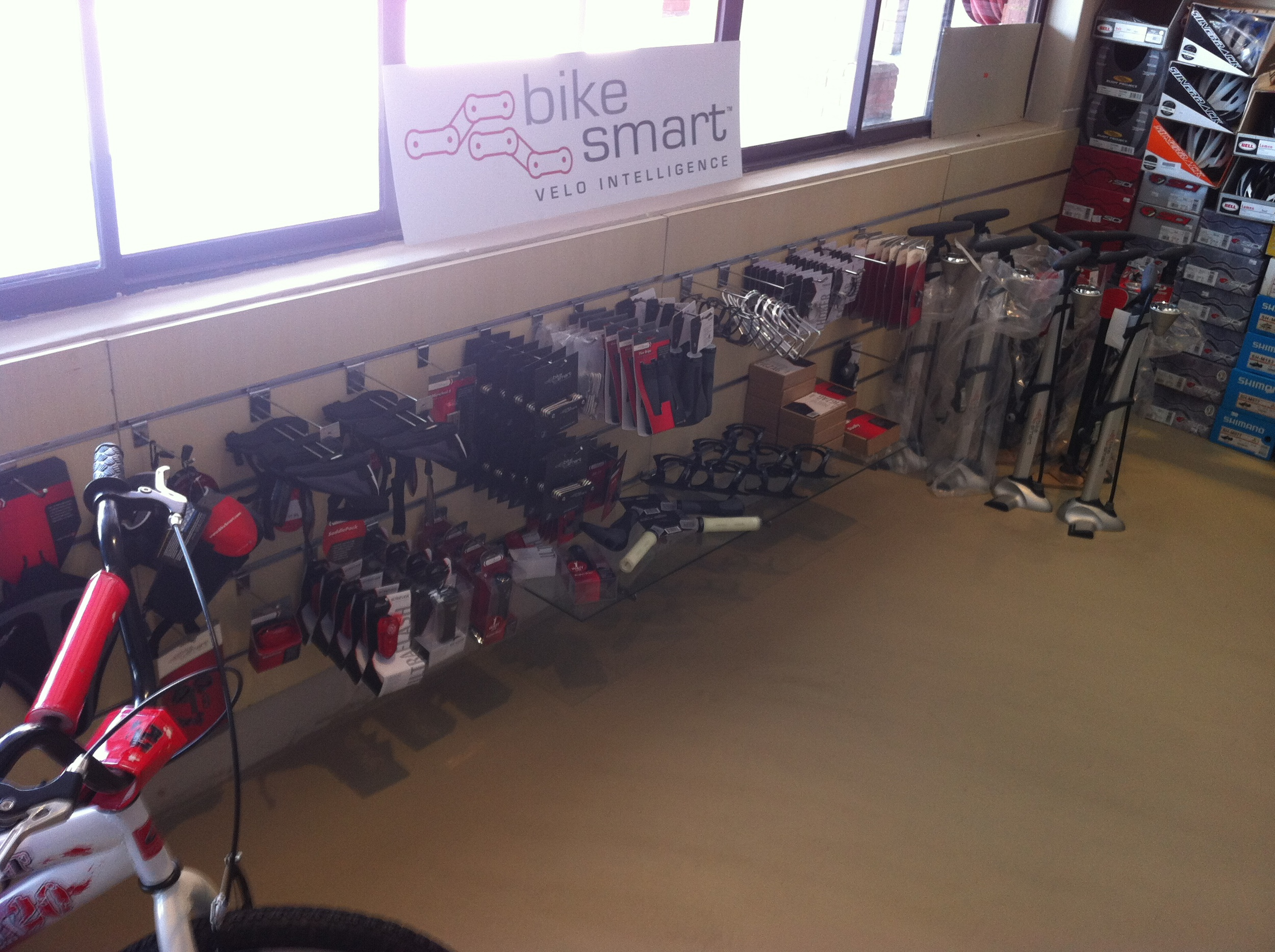BikeSmart in display at Complete Cyclist in Joburg