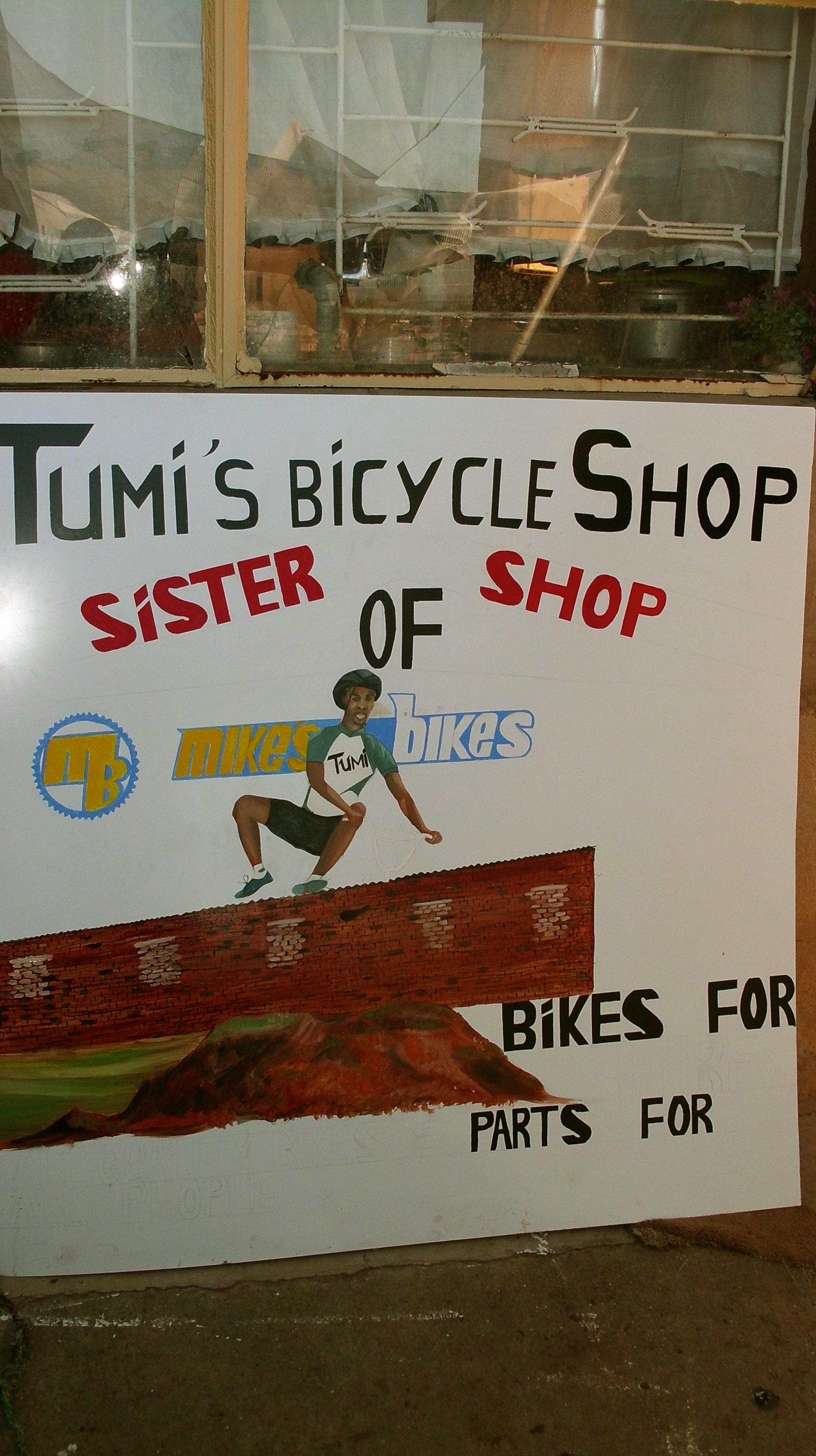 Tumi's Bicycle Shop