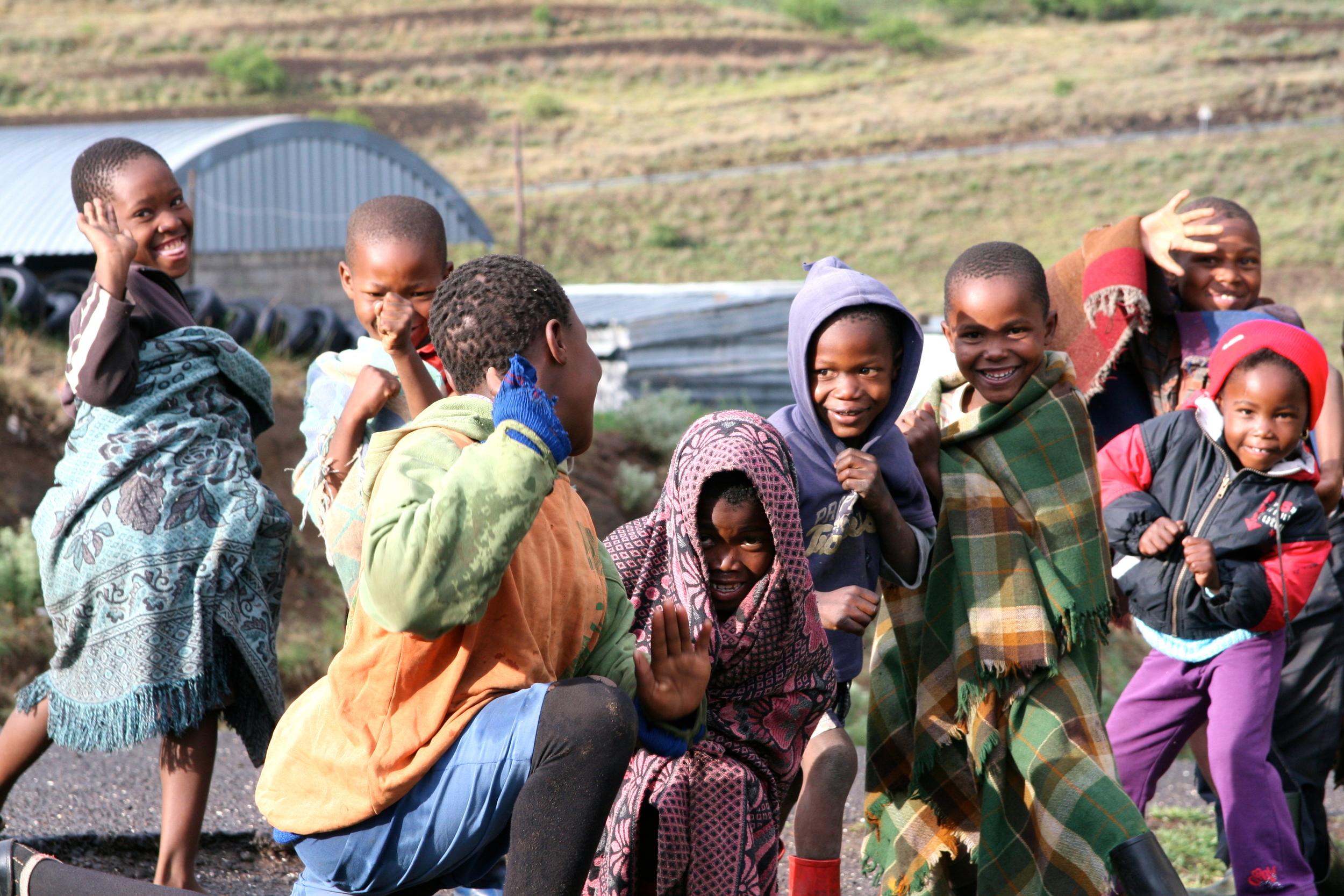 Lesotho kids - they need some bikes!