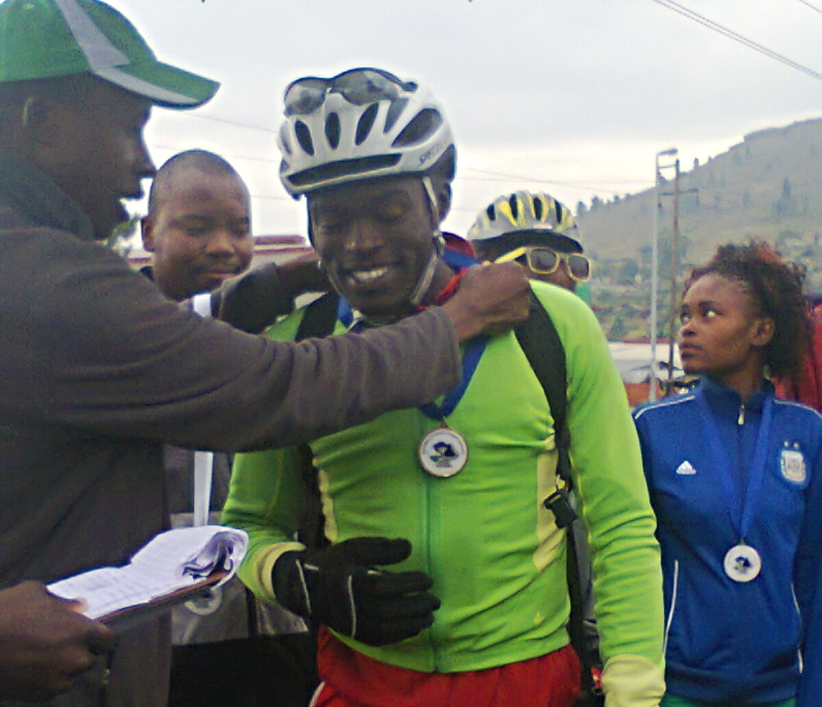 The National Champion, trained by Tumi himself.