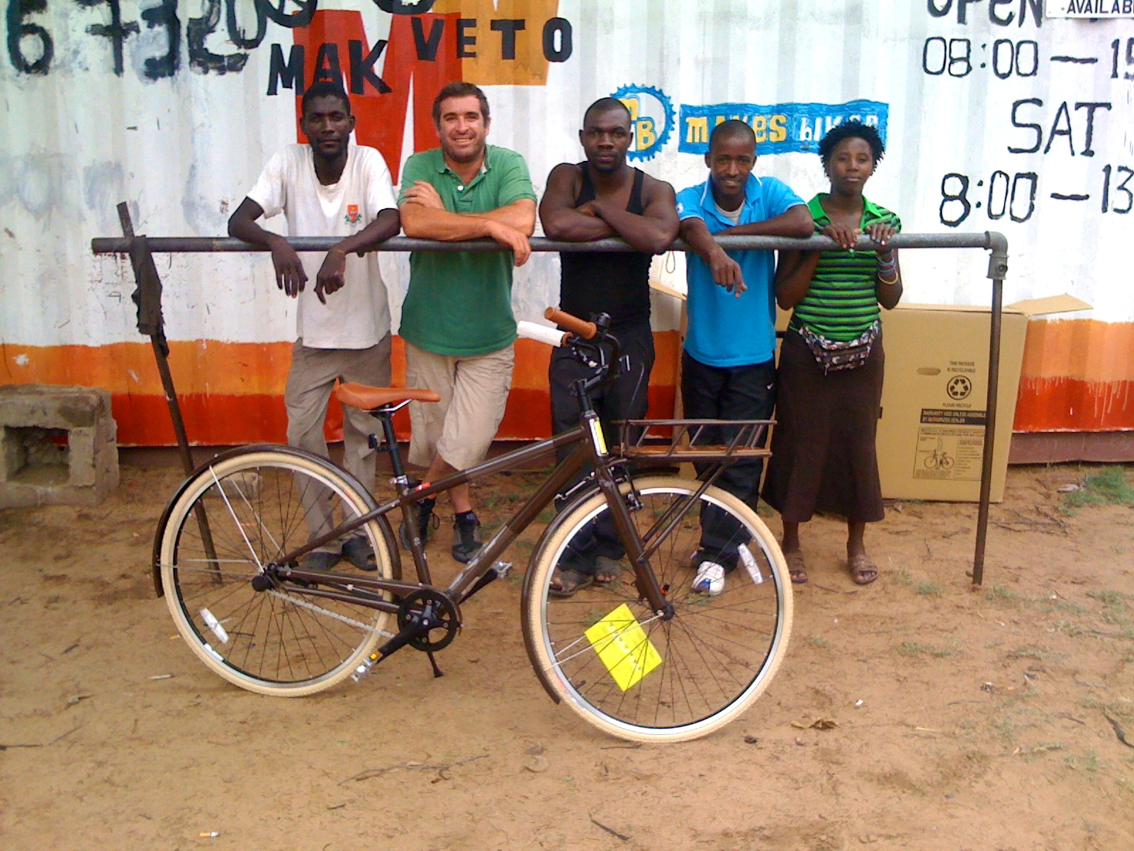 The team! Renewing friendships, partnerships and commitments.