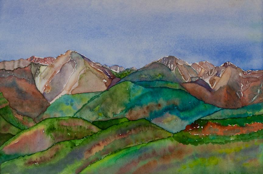 La Plata Mountains in Summer