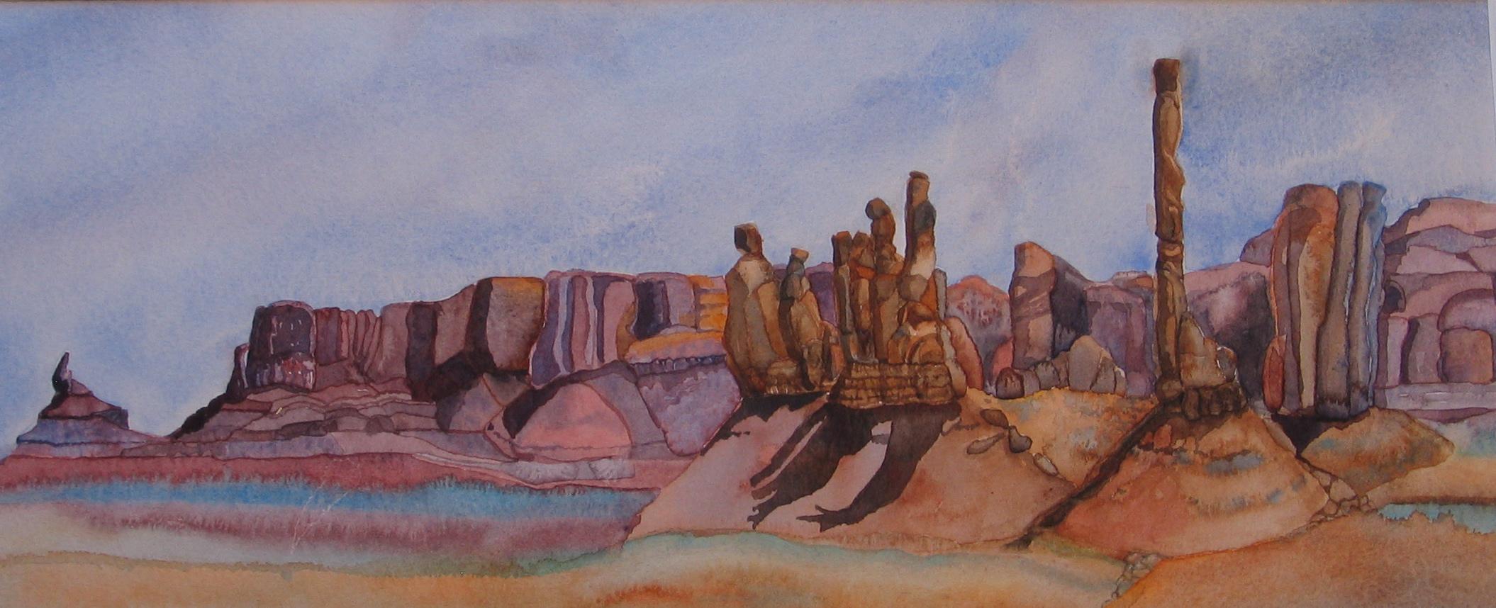 Yei Bi Chei and Totem Pole