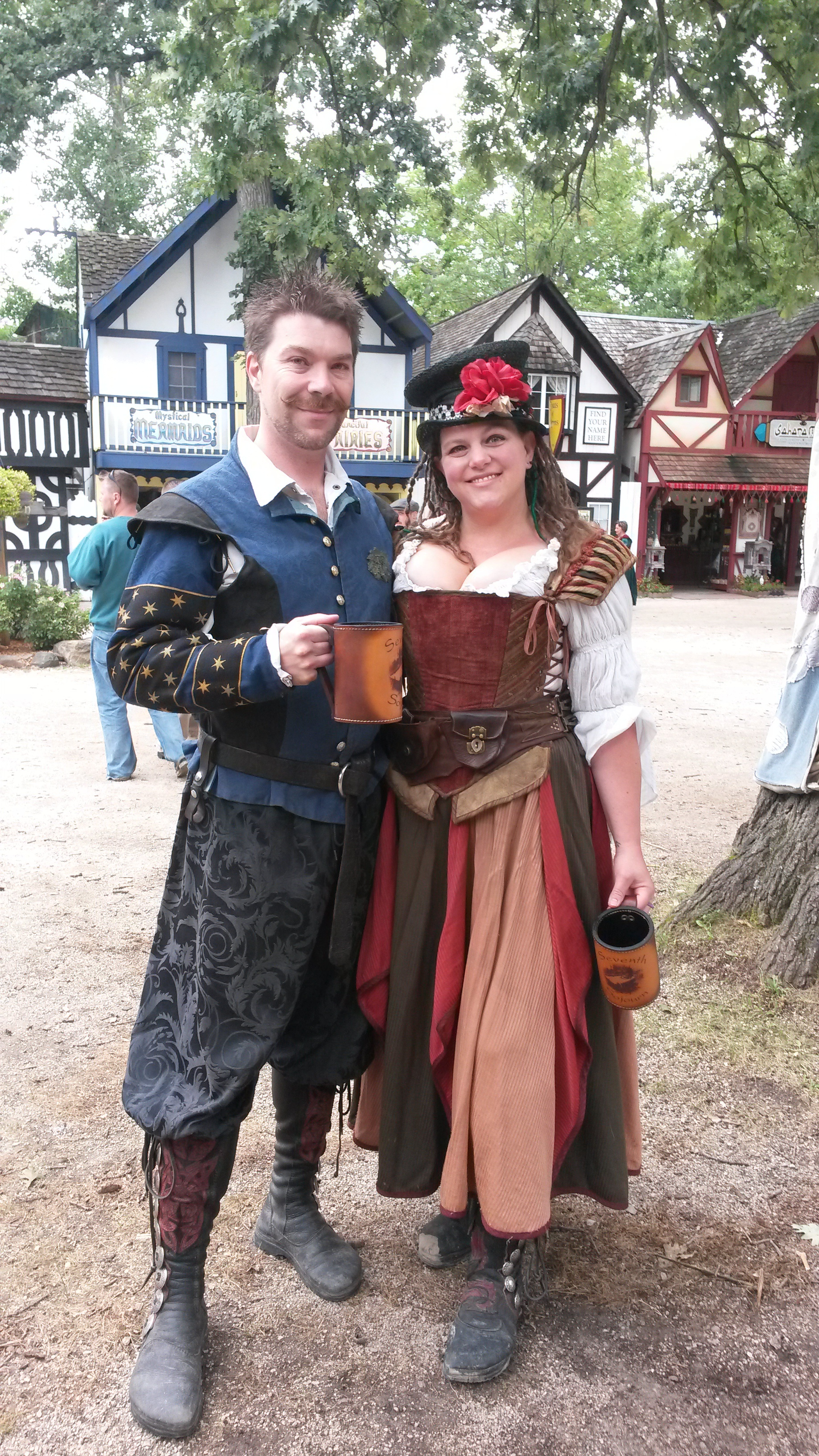 Melissa and Bryan and the Bristol Renaissance Festival 2013