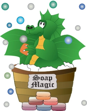 Tubby the Soap Dragon has been a mainstay for Seventh Sojourn.