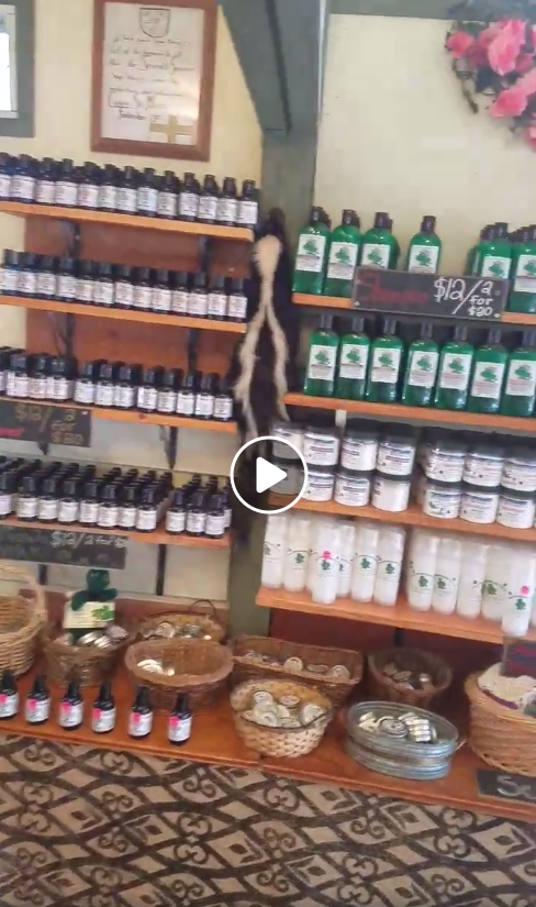 Massage oils, shampoos,shaving soaps, french clay and more!
