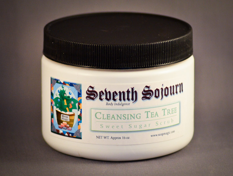 Tea Tree Scrub