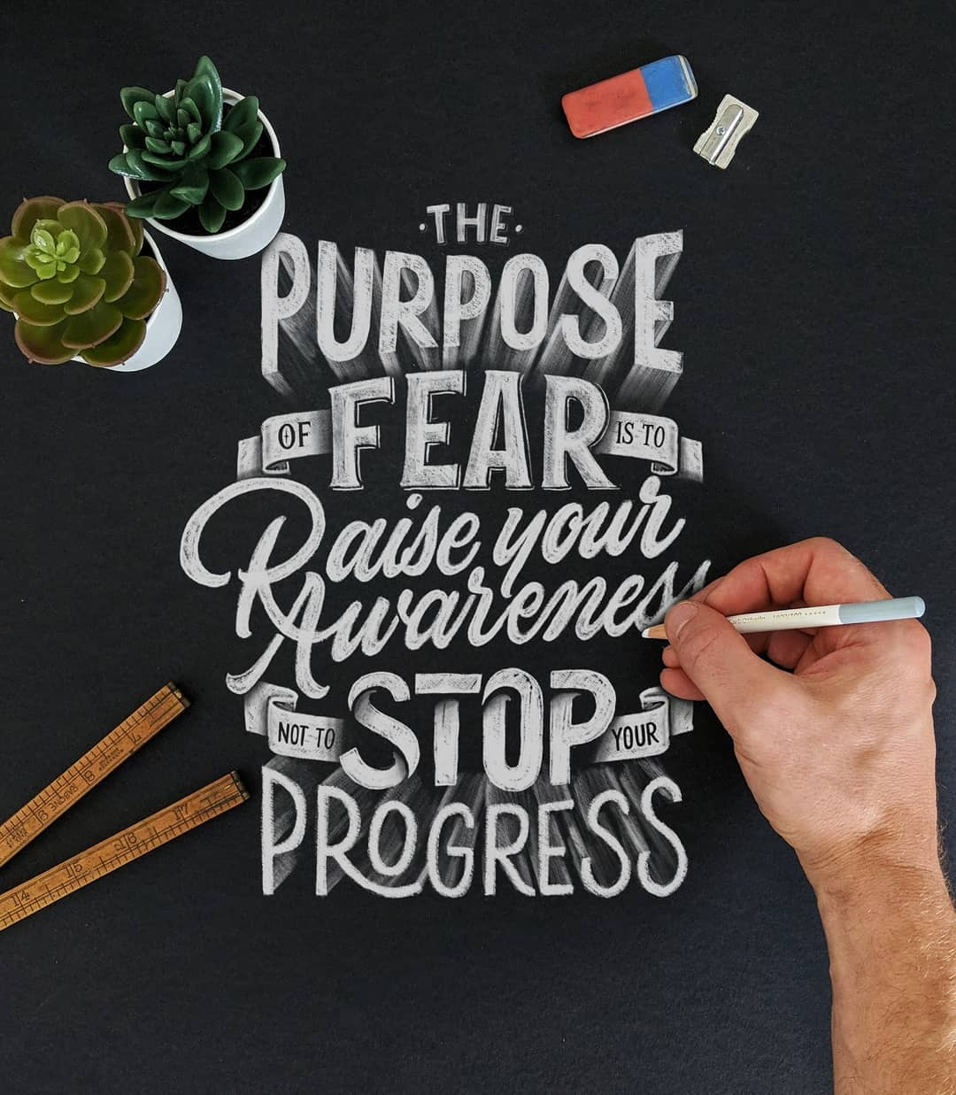 The Purpose of Fear is to Raise Your Awareness Not to Stop Your Progress