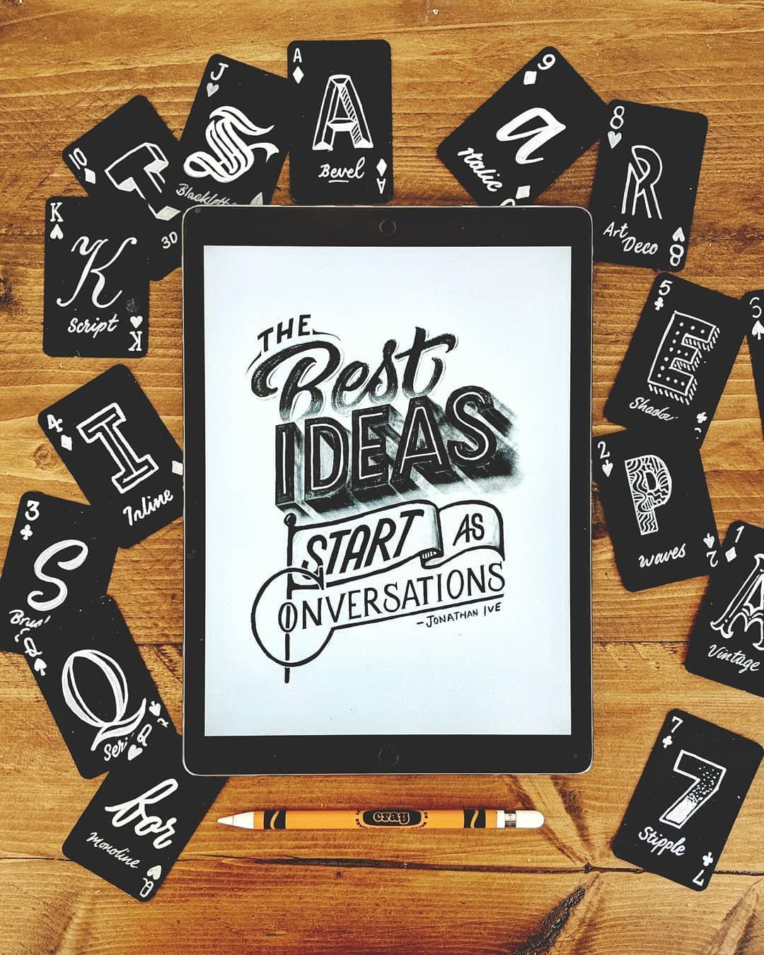 The Best Ideas Start as Conversations