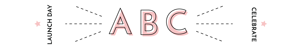 Illustration of exciting ABC launch