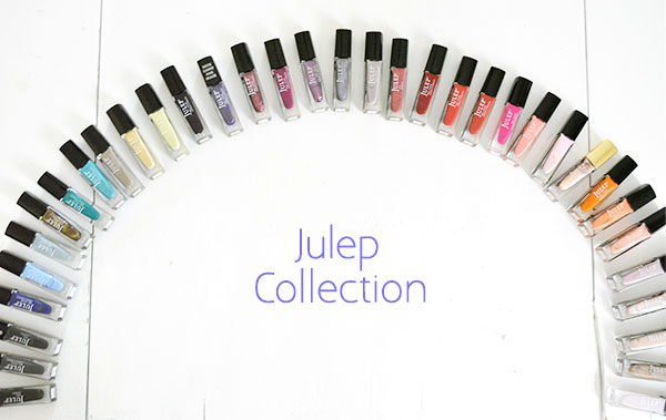 Julep carries an array of polish finishes--creme, silk, shimmer, metallic, and on and on. The possibilities are endless!