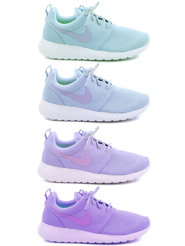 ombre running shoes