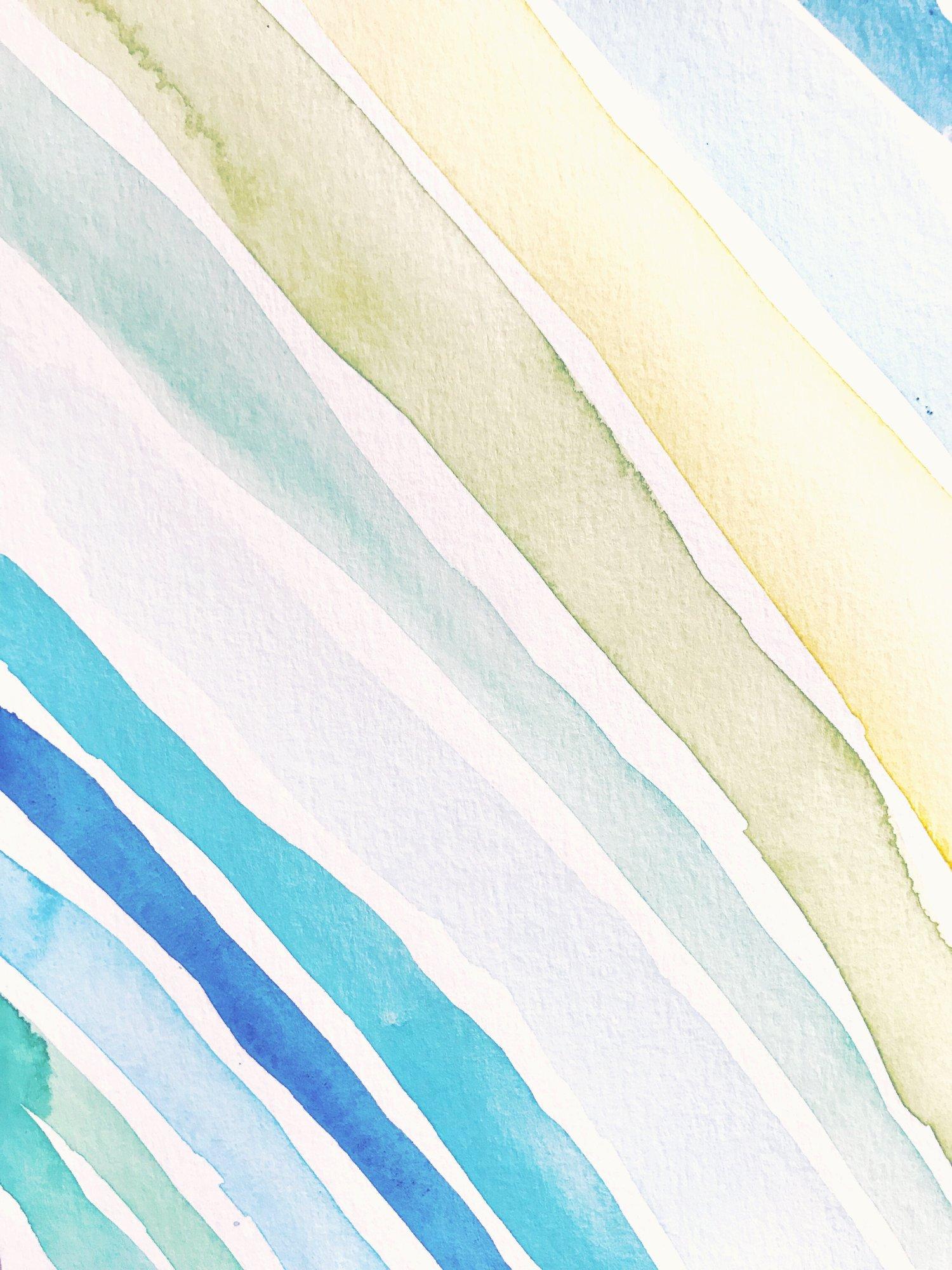 Blue Watercolor Wallpaper Cardsnob