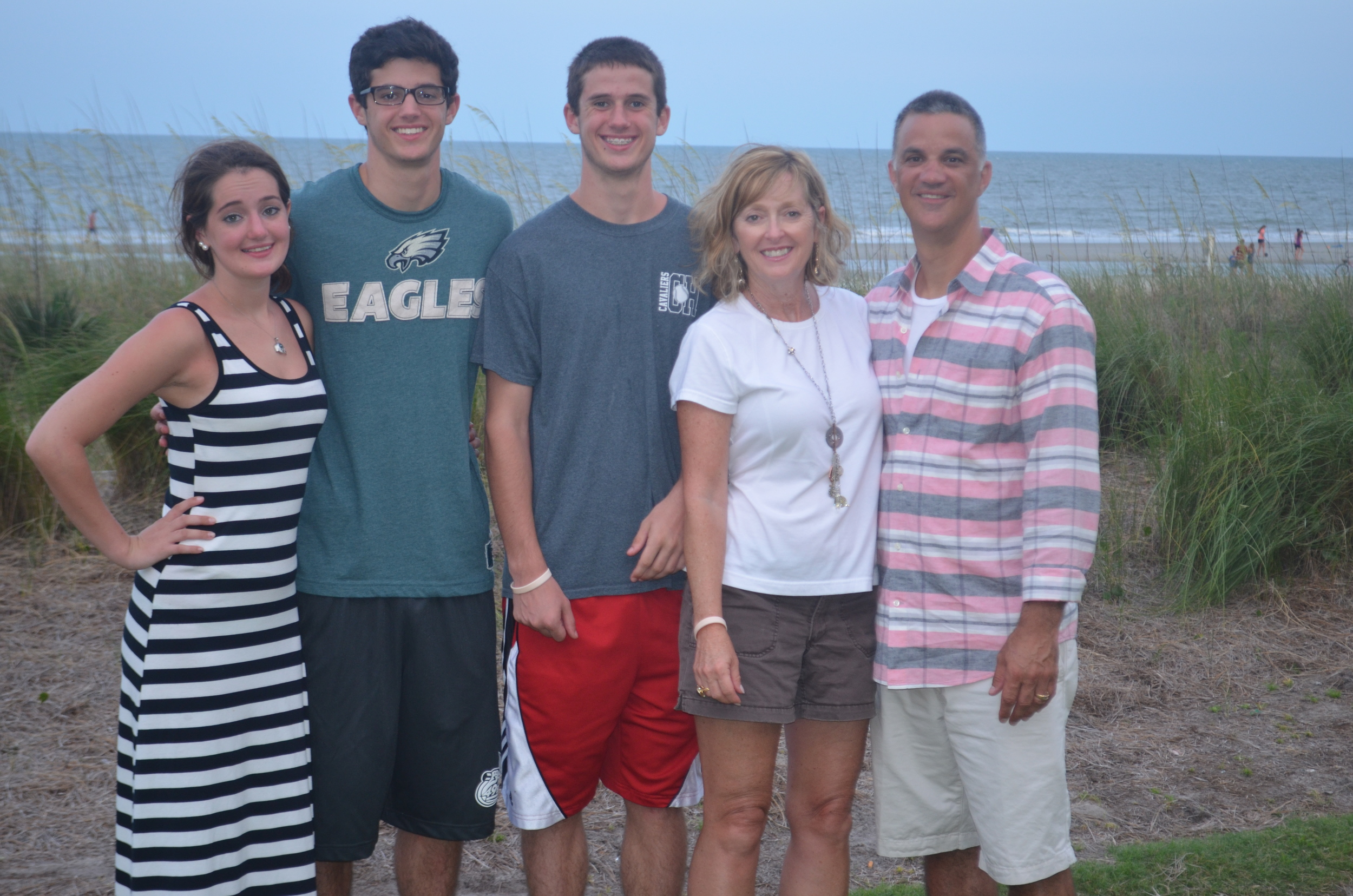 The Pacello clan in Hilton Head
