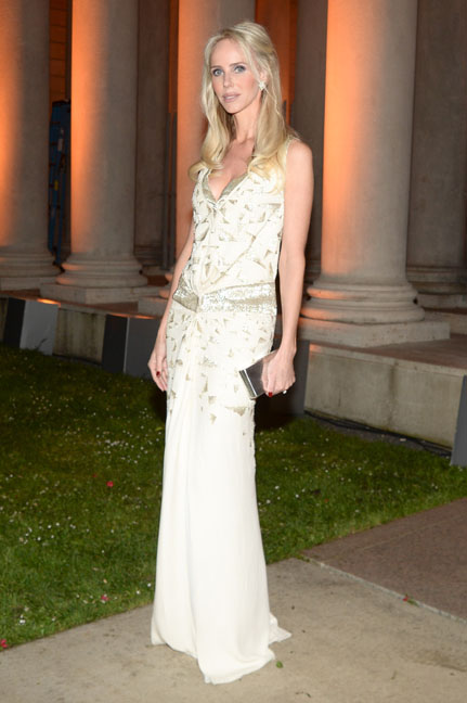Samantha Getty at the Salvatore Ferragamo 2014 Mid-Winter gala to benefit the Fine Arts Museums, San Francisco