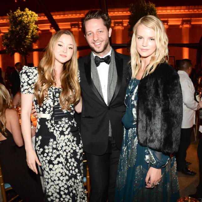 Derek Blasberg, Devon Aoki, Kelly SawyerJessica Hart at theSalvatore Ferragamo 2014 Mid-Winter gala to benefit the Fine Arts Museums, San Francisco