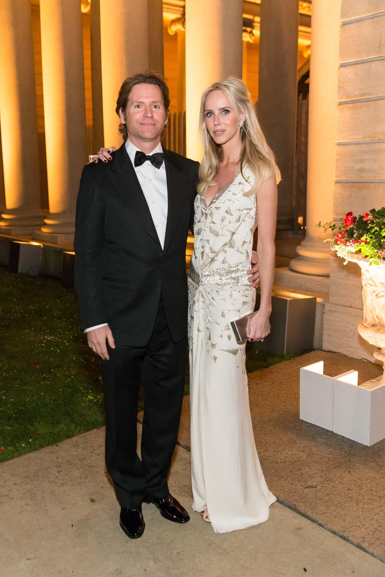 Trevor Traina, and Vanessa Getty at the Salvatore Ferragamo 2014 Mid-Winter gala to benefit the Fine Arts Museums, San Francisco