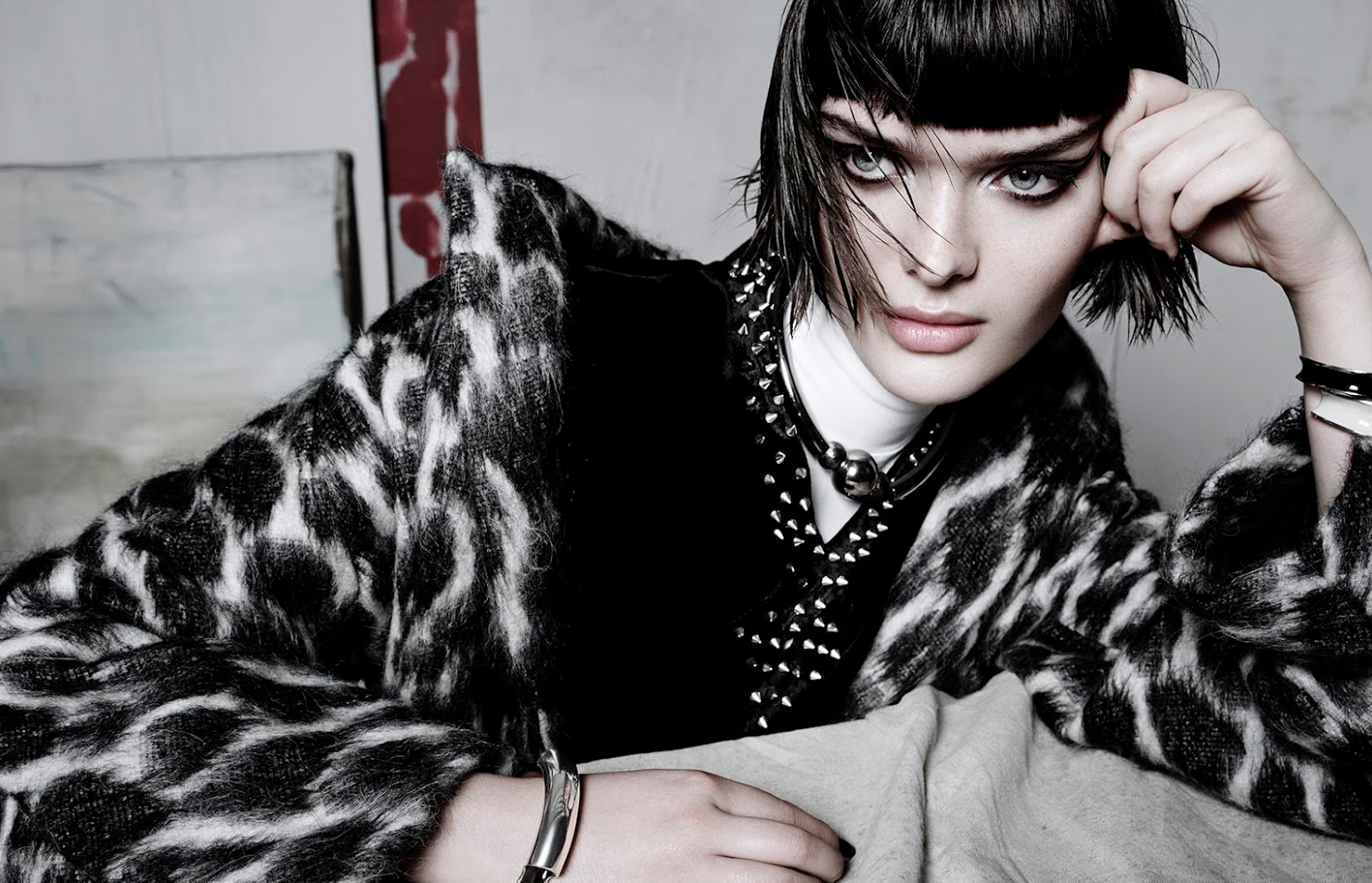 sam rollinson photographed by tom munro for vogue china