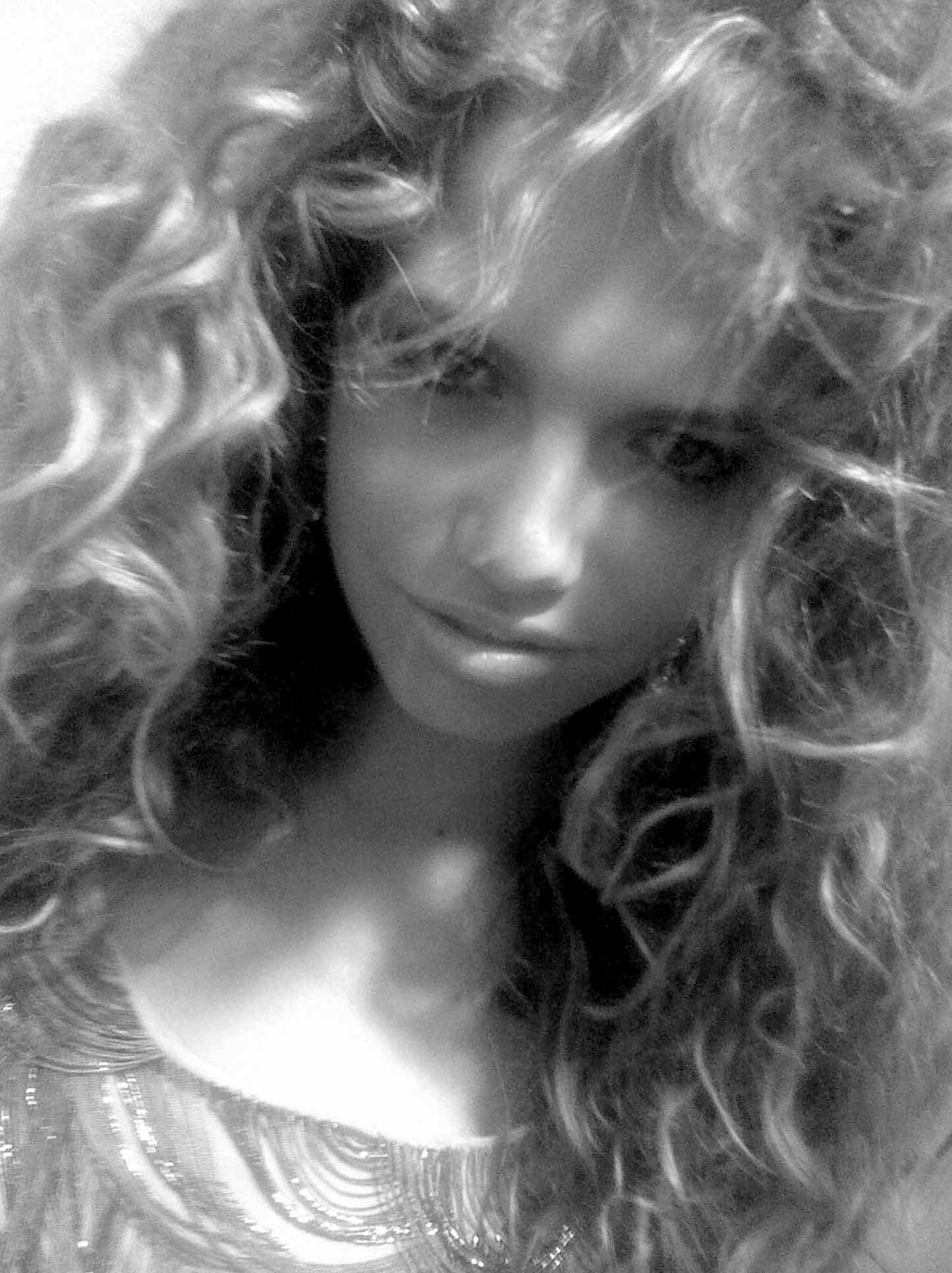 Hailey Clauson at Genlux shoot on January 28, 2009