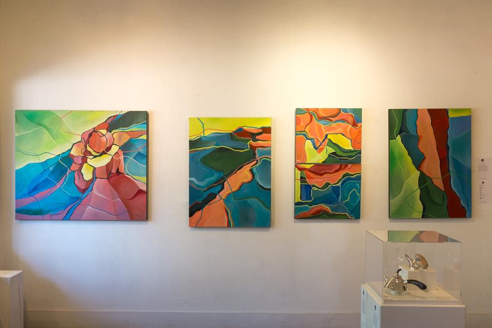 New Paintings at Gallery on Queen