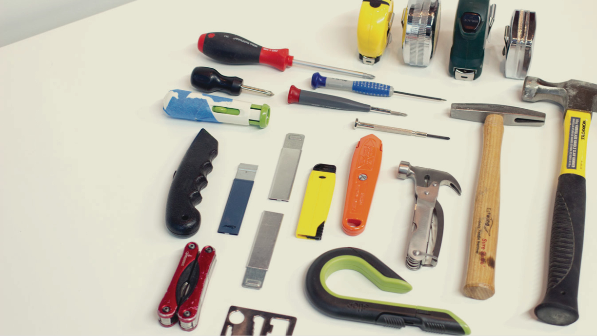 In designing Vestige, we explore tools currently available and take inspiration from the most efficient, durable items