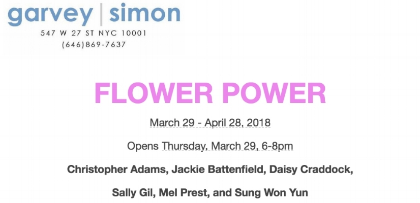 I've got work up now, curated by Ellen Hackl Fagan of  ODETTA gallery , and Liz Garvey from garvey|simon. The opening is this week!