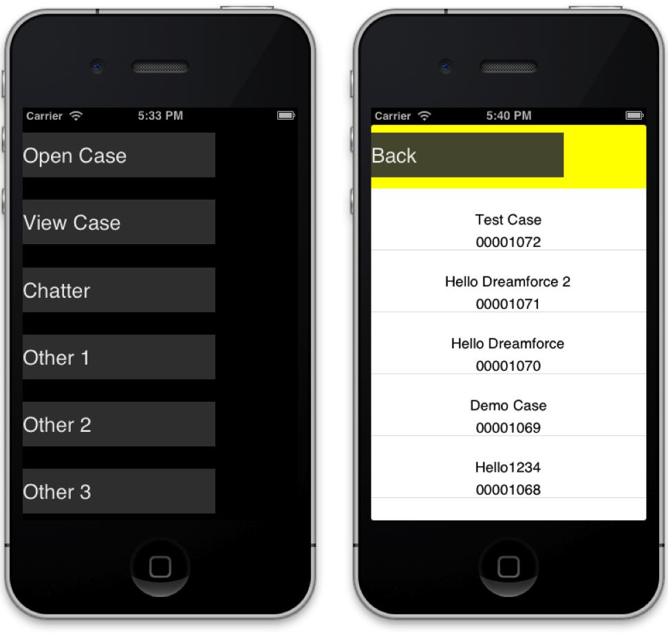 IOS native mobile app