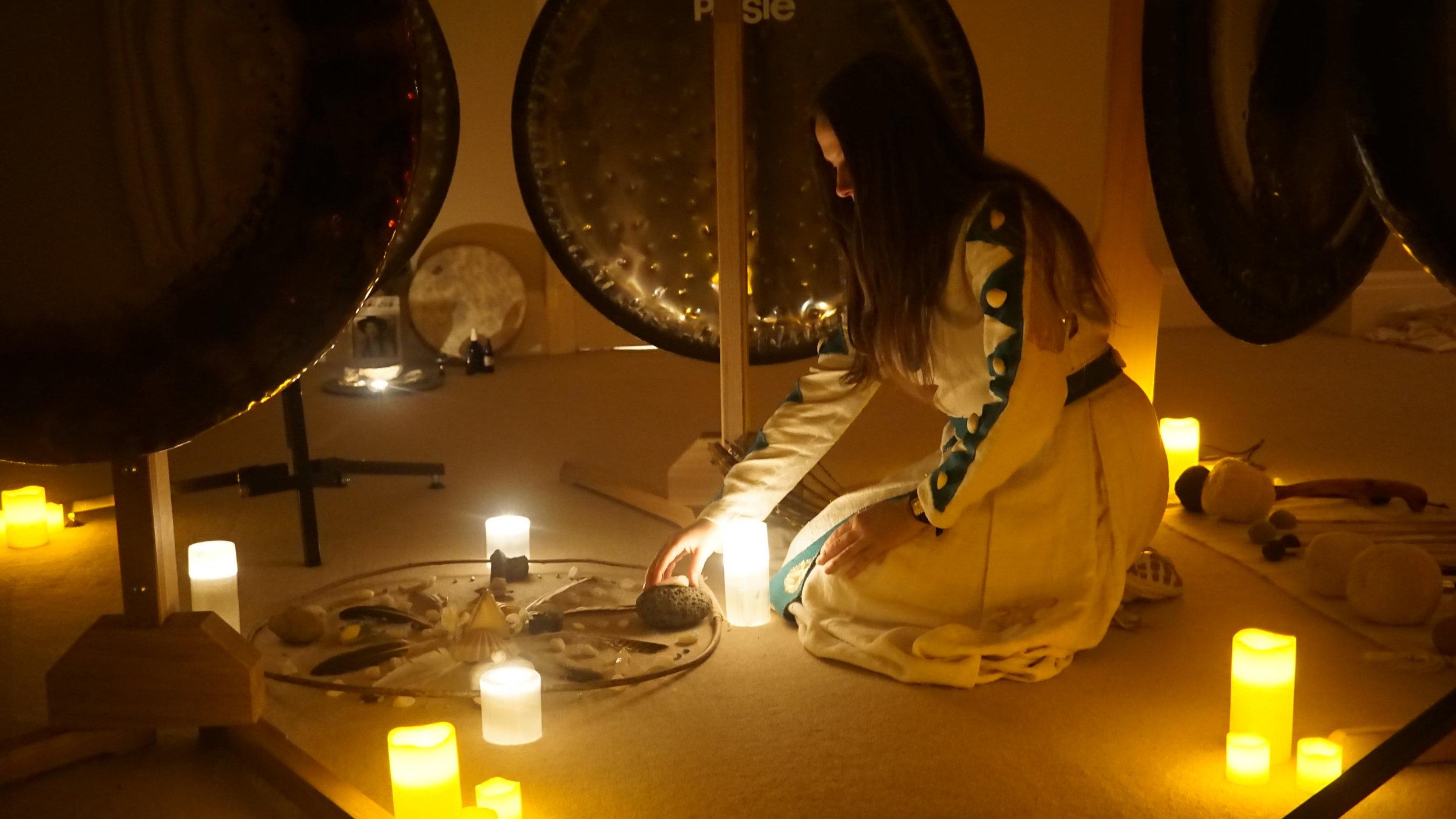 winter SOLSTICE GONG PUJA - sacred sound dusk till dawn....
