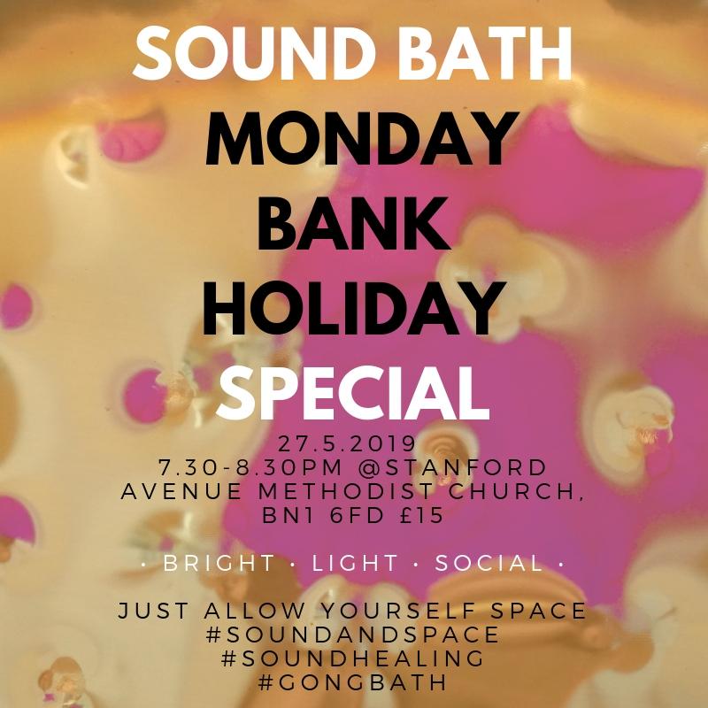 SOUND BATH BRIGHTON