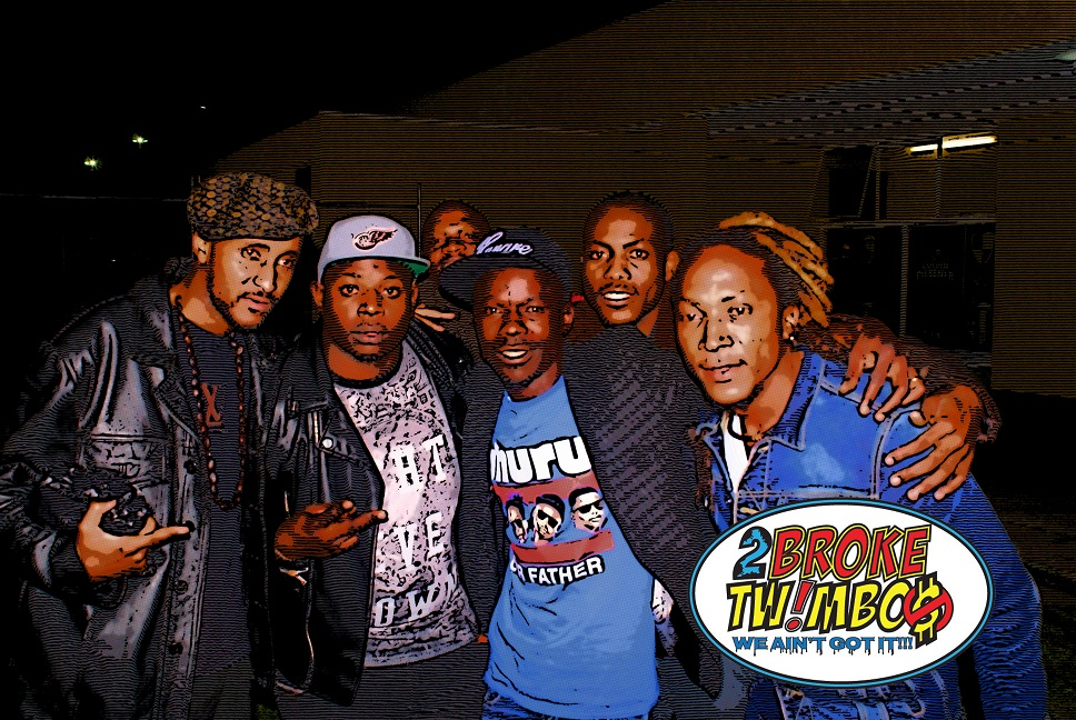 UHURU! In this picture in random order: Xelimpilo,     Mapiano, DJ Clap   &   Maphorisa (and someone)