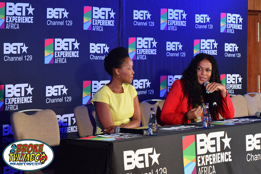 Beverly Bond (right) at The BEST Experience Africa