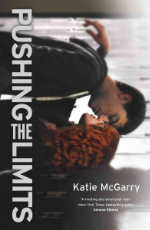 "Pushing the Limits  by Katie McGarry. This is the first of a trilogy. The second book is  Dare You To  and the third is  Crash Into You .  No one knows what happened the night Echo Emerson went from popular girl with jock boyfriend to gossiped-about outsider with ""freaky"" scars on her arms. Even Echo can't remember the whole truth of that horrible night. All she knows is that she wants everything to go back to normal.  But when Noah Hutchins, the smoking-hot, girl-using loner in the black leather jacket, explodes into her life with his tough attitude and surprising understanding, Echo's world shifts in ways she could never have imagined. They should have nothing in common. And with the secrets they both keep, being together is pretty much impossible.  Yet the crazy attraction between them refuses to go away. And Echo has to ask herself just how far they can push the limits and what she'll risk for the one guy who might teach her how to love again."